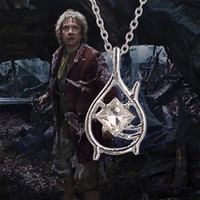 Wholesale Silver Ring Singapore - Lord of The Rings Hobbit Necklace Pendant Necklace Tauriel Exquisite Items