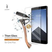Wholesale Titan Protector - Original Oneplus two Premium Tempered Glass Screen Protector for One Plus 2 Clear Protective Film GODOSMITH TITAN 2016 New