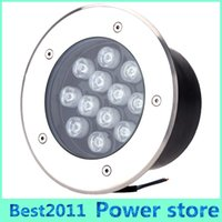 Wholesale Led Underground Lights Price - Wholesale price 12X1W AC85-265V LED Outdoor Floor Buried Lighting 12W Waterproof IP67 LED Underground Lamps Warm Cool Nature White