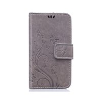 Wholesale galaxy s5 flip wallet resale online - Butterfly Pattern Wallet Leather Phone Case For Samsung Galaxy S5 TPU Back Cover Flip Stand Wallet Bag Holder