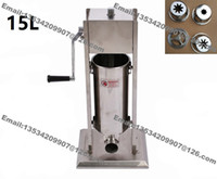 Wholesale Deep Fryer Electric - Free Shipping 3 in 1 15L Manual Churro Machine + 700ml Churros Filler + 12L Electric Deep Fryer