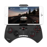 Cool Wireless Bluetooth Game Controller Gaming Joystick Gamepad para Android iOS iPhone iPod Smart PC Telefone Preto Atacado