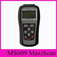 Wholesale obd scanner autel resale online - Spectrum Analyze MaxiScan MS609 Autel Code Scanner OBD II OBD Scan Tool Fault Diagnosis Instrument For Vehicle Detection Instrument Tester