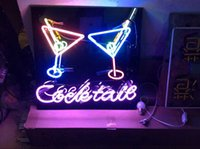 Wholesale cheers sign resale online - Neon Light Sign LED sign cheers Neon Beer Sign Bar Sign Real Glass Neon Light Beer Sign43