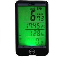 odómetros de bicicleta inalámbricos al por mayor-Al por mayor-29 en 1 retroiluminación LCD Retroiluminado ciclismo inalámbrico Bike Computer Touch Button impermeable bicicleta velocímetro cuentakilómetros cronómetro