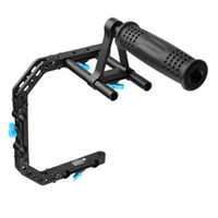 FOTGA DP3000 C-Shape Staffa Cage + maniglia superiore Grip Supporto Per 15mm DSLR Rig