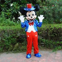Wholesale Dora Mascot Costume Party - The mickey Minnie The most popular Christmas Halloween Dora cartoon costumes for Halloween party supplies adult size mascot free shipping