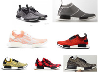 Wholesale Nice Cities - Camo Pack Nice Kicks city sock NMD Runner Primeknit running shoes sports sneaker black red grey R1 race XR1 ultra boost shoes