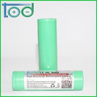 Wholesale High Power Li Ion Battery - TOD INR 18650 3.7 V 3000 mAh 35 A Rechargeable Li-ion Battery High Power Battery