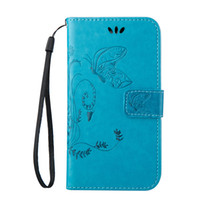 Wholesale Nexus Butterfly - Rope Cover Skin For Huawei Mate 8 NEXUS 6P 5X 4C P9 P8 Lite Y550 Y6 G8 Cases Butterfly PU Leather Stand Wallet With Credit Card Slots Shell