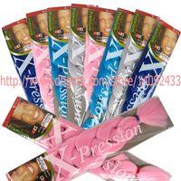 "Wholesale Synthetic Bulk Hair For Braiding - XPression Braiding Hair 165G 82"" Ultra Braid Hair Bulk For Jumbo Braids Synthetic yaki Hair Extension15colors available"