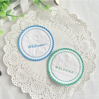 Wholesale Disposable Paper Glass - Hotel Guest House Supplies Disposable Supplies Coasters Cup Mat Glass Pads Disposable Paper Coaster Pads Wholesale