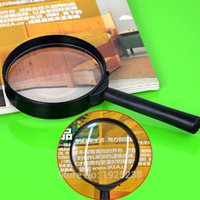 Wholesale 5x Hand Held Magnifying Glass - Wholesale-1pcs Magnifier Hand Held Glass 60mm Reading 5X Magnifying handheld Hot Sale