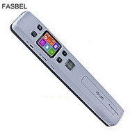 Wholesale pdf scanners - Wholesale- Wireless WIFI Portable Scanner A4 Size Support JGP PDF High Speed Document Scanner 1050DPI Support TF Card to 32GB