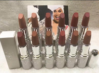 Wholesale low lipsticks for sale - Group buy Lowest Best Selling good sale NEWest product Makeup MATTE LIPSTICK Twelve different colors gift