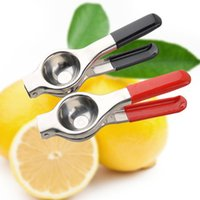 Wholesale Metal Lemon Squeezer - Stainless Steel Juicer Lemon Squeezer Kitchen Tools Orange Citrus Lime Lemon Fruit Squeezers Vegetable Press Reamers Juicer Hand Manual