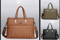 Wholesale Cheap Travel Bags For Men - Promotion Leather Shoulder Business Bag For Man Travel Luxury Designer Handbags The Best Gift Backpacks High Quality Men's Jeep Cheap