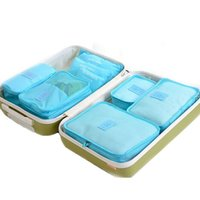 Wholesale Drawers Women - Hot 2016 New Women Ladies Desk Makeup Organizer Underwear Drawer Cosmetic Container Storage Boxes For Travel Bag 6pcs lot 160721#