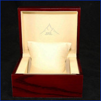Wholesale Antique Pillows - Red Watch Boxes Jewelry box with pillow Square Jewelry Set Storage Box wristwatches boxes gift Display