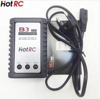 baterias de lipo rc 3s venda por atacado-Hot RC B3 LIPO Carregador de Bateria B3 7.4 v 11.1 v Lipo Carregador de Bateria 2 s 3 células para RC LiPo EUUS com caixa