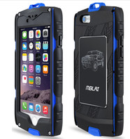 Wholesale Heavy Duty Armour Iphone Case - MB Heavy Duty hybrid Armour Case for iPhone 6 6S plus with Built-in Screen Protector Water Resist DHL Free shipping SCA129