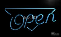 Wholesale Enseigne Led - LB002-TM OPEN Shop Enseigne Lumineuse Neon Light Signs. Advertising. led panel