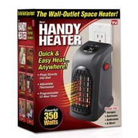 Wholesale Infrared Room Heaters - Mini Handy Heater Plug-in Personal Heater Home Use The Wall-outlet Space Heater 350W Handy Heaters Free DHL Shipping