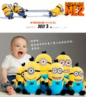 Wholesale Despicable Movie Plush Toy - 20cm DESPICABLE ME Toys yellow boy toys for a gift plush toys free shipping