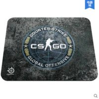 Wholesale Qck Mouse Pad - STEELSERIES QCK+ CS GO game mouse pad, Size 450X400X4mm Free Shipping mouse pad kitty mouse craft