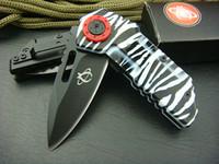 cuchillo de tiro al por mayor-Lo nuevo Mantis Shootey DA17 Titanio Cuchillo plegable táctico 440C 55HRC Camping Caza Supervivencia Cuchillo de bolsillo Utilidad militar EDC Retail BOX