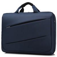 Wholesale Laptop Bag 17 Handle - Wholesale- 17 Inch Waterproof Computer Laptop Bag Shoulder Messenger Briefcase With High Quality
