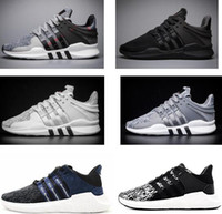 Wholesale Limited Edition Sneakers Man - 2017 with box Newest Ultra Boost support 93 EQT Support Limited edition black pink Sneakers women running Shoes For men sports shoes 36-45
