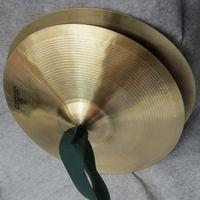 cymbales jouets achat en gros de-38cm / 15 pouces cuivre main cymbales Gong bande rythme percussion instrument de musique jouet cuivre cymbales bande dans les cymbales cym