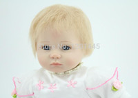 Wholesale Real Doll Hand - hand made 18inches lifelike reborn baby soft silicone vinyl real touch doll newborn baby
