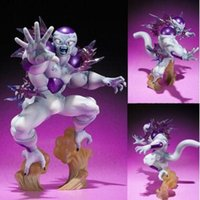 Wholesale dragon ball z frieza - Hot Banpresto MSP Comic Anime Akira Toriyama Dragon Ball Z The Freeza Frieza Freezer Final State PVC Action Figure Model Brinquedos