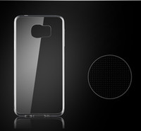 Wholesale S3 Clear Silicon - Ultra thin Clear Silicon TPU Soft Cover Case For Phone Samsung S3 S4 S5 S6 Note 2 3 4 5 A3 A5 A7 Mobile phone cases