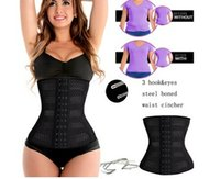Wholesale Christmas Girdles - JOYMODE Christmas Gifts hot sale Women Body Shaper Breathable body sculpting girdle Latex Rubber Waist Trainer Cincher Underbust Corset Sha