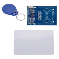 Wholesale Card Arduino Uno - 1PCS Free shipping MFRC-522 S5Q RC522 RFID Reader IC Card Proximity Module 13.56 Mh For Arduino UNO AAACNV