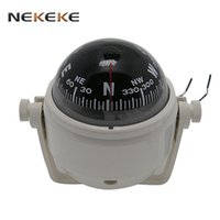 Wholesale electronic pointer for sale - Group buy New Sea Marine Electronic Digital Compass Boat Caravan Truck V LED Light Black and white durable
