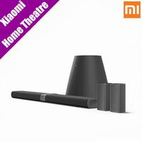 Wholesale Home Theater Sound - Wholesale- Original Xiaomi Surround Stereo Home Theater Home Smart Mix Household Soundbar Patchwall Smart System Surround Sound System