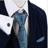 Wholesale Extra Long Mens Tie - S7 Paisley Floral White Light Gray Grey Silver Black Extra Long Size Fashion Mens Necktie Tie 100% Silk