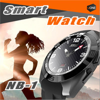Wholesale Female Voice - NB-1 G5 SmartWatch Ultra-Thin Heart Rate Monitor MTK2502 support Voice Control Siri ECG transmission smart wrist watch for ios&android