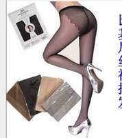Wholesale Thin Bikini Pantyhose - Bikini-shell core wire Shoufutitun butterfly file stockings wholesale ultra-thin pantyhose child 12pair