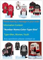 Wholesale Ice Hockey Goalie Jersey - 2016 New Custom Ottawa Senators Men & Youth & Women size XXS~6XL goalie cut Premier Alternate Winter Classic Personalize Ice Hockey Jerseys