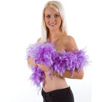 ingrosso accessori boas-10 pz / lotto Viola Feather Boa Fancy Dress Accessory Costume Party 2 m lunghezza 10 Colori per Scegliere