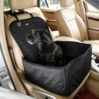 5 PCS DHL Freeshipping 2 en 1 bolso impermeable plegable del almacenaje de los portadores del coche del animal doméstico Mats Baskets Dog Cat