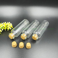 Wholesale mini message bottles for sale - Group buy Hot Sale ML Glass Drifting Bottle Clear Empty Wishing Bottle OZ Glass Message Vial With Cork Stopper Mini Containers