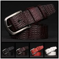 Wholesale Heated Belts - HOT sale 2016 male crime luxurious leather fashion designer style leisure belt heat high quality low price