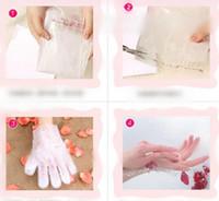 Wholesale Hand Exfoliating Mask - Hand Mask Moisturizing Gloves Smoothing Whitening Moisturizing Exfoliating Skin Care Hand Care Women Hand Membrane OOA2226
