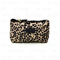 Wholesale Clutch Bags Leopard - Famous brand leopard cosmetic case luxury makeup organizer bag beauty toiletry wash bag clutch bag purse tote vanity pouch boutique VIP gift